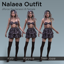 Nalaea Outfit for Genesis 8 Female image 8