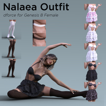 Nalaea Outfit for Genesis 8 Female image 9