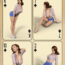 WMs PinUp Classic 1 - Poses for Genesis 3 and 8 Females image 4
