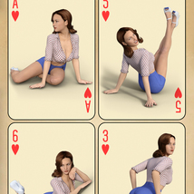 WMs PinUp Classic 1 - Poses for Genesis 3 and 8 Females image 5