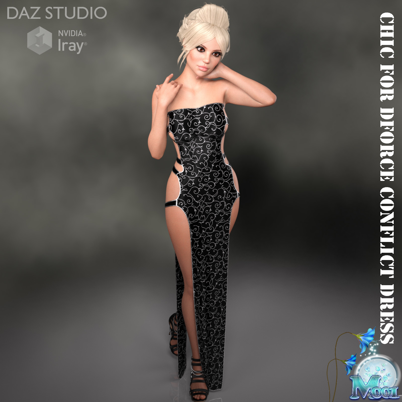 Chic for DForce Conflict Dress by Moonlight001