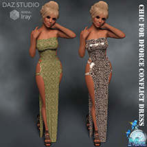 Chic for DForce Conflict Dress image 1