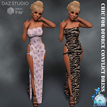 Chic for DForce Conflict Dress image 2