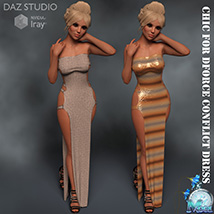 Chic for DForce Conflict Dress image 3