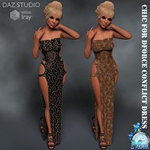 Chic for DForce Conflict Dress image 4