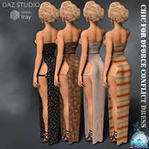 Chic for DForce Conflict Dress image 5