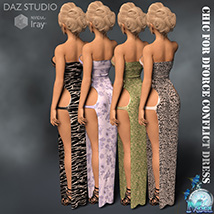 Chic for DForce Conflict Dress image 6