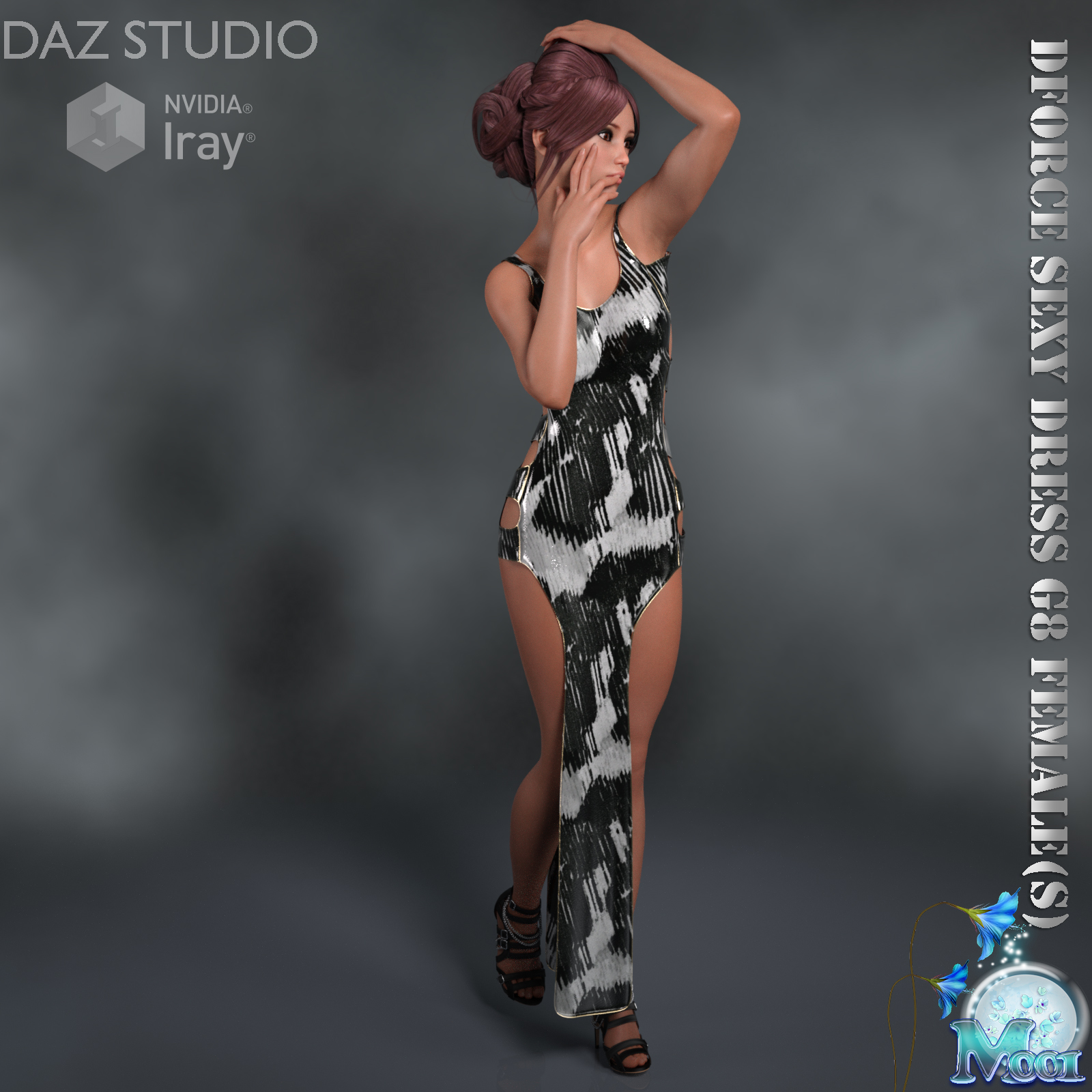 Dforce Sexy Dress G8F - Extended License by Moonlight001