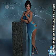 Dforce Sexy Dress G8F - Extended License image 7