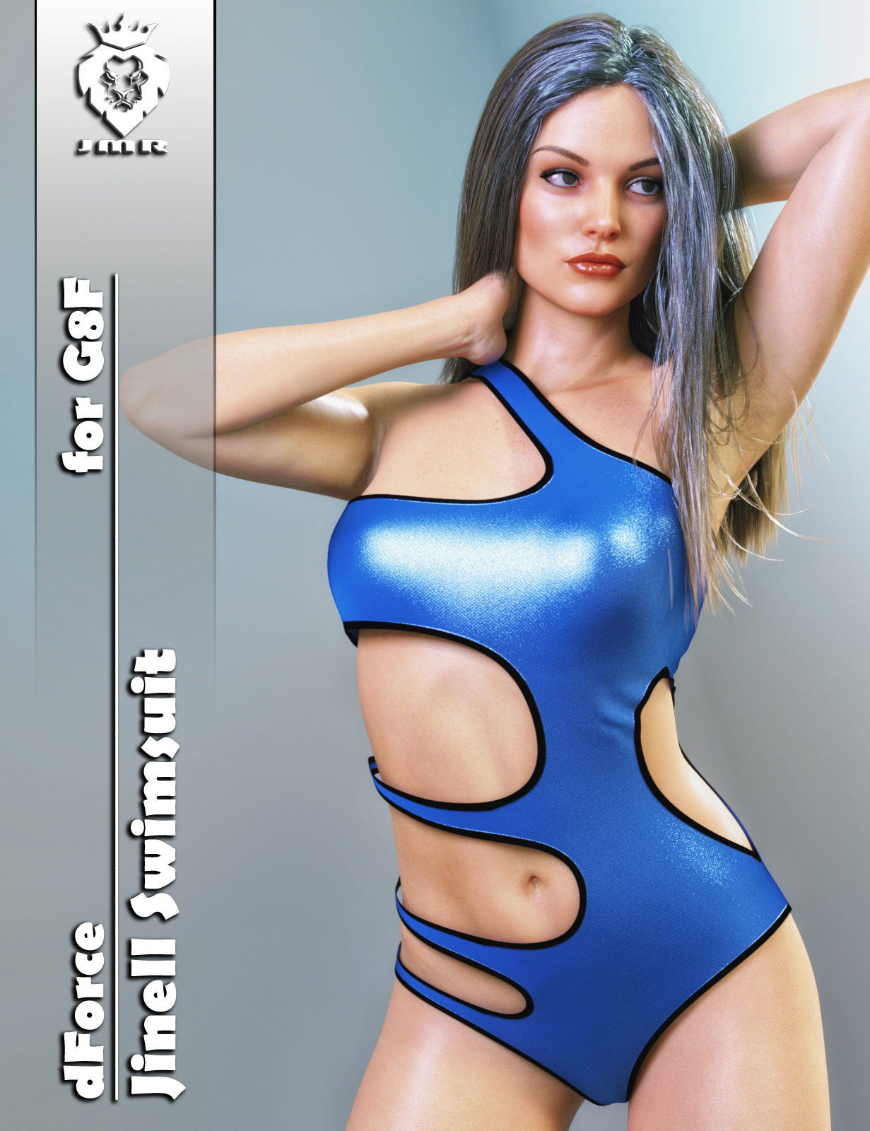 JMR dForce Jinell Swimsuit for G8F by JaMaRe
