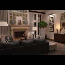 Modern Interiors - Living Room 1 image 1
