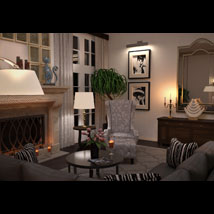 Modern Interiors - Living Room 1 image 2
