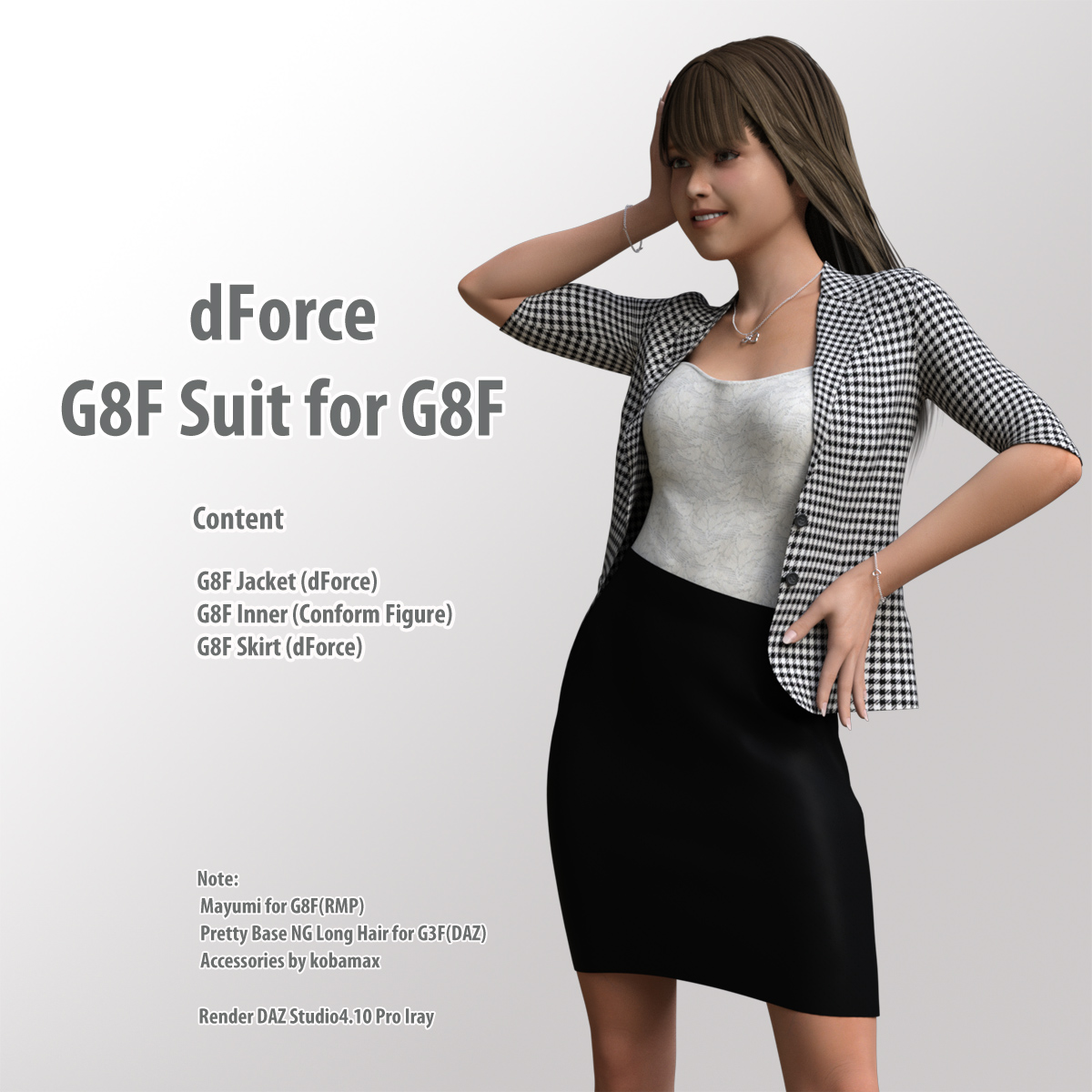 dForce G8F Suit for G8F - Extended License by kobamax