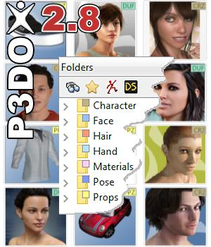 P3DO Explorer pro 2.8 3D Software : Poser : Daz Studio yarp