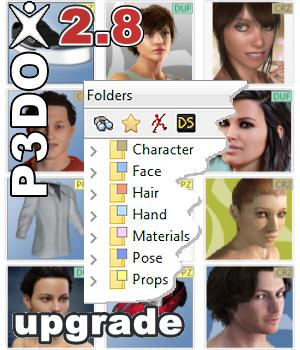 P3DO pro 2.8 upgrade 3D Software : Poser : Daz Studio yarp