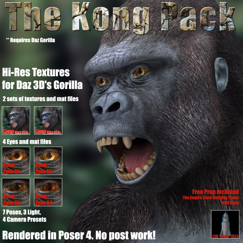 THE KONG PACK