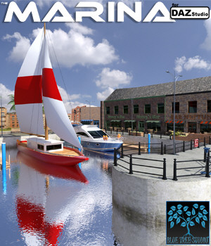 Marina for Daz Studio 3D Models BlueTreeStudio