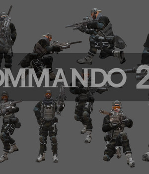 Commando 2D  2D Graphics HWW0