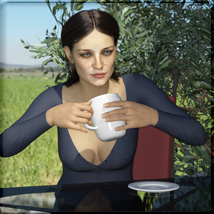Coffee Stop Props & Poses image 4
