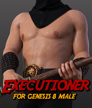 Executioner for G8 males 3D Figure Assets powerage