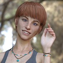 KrashWerks SQUEAKY for Genesis 8 Female image 4