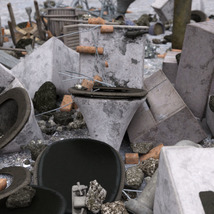 3D Scenery: Trash Piles - Extended License image 4