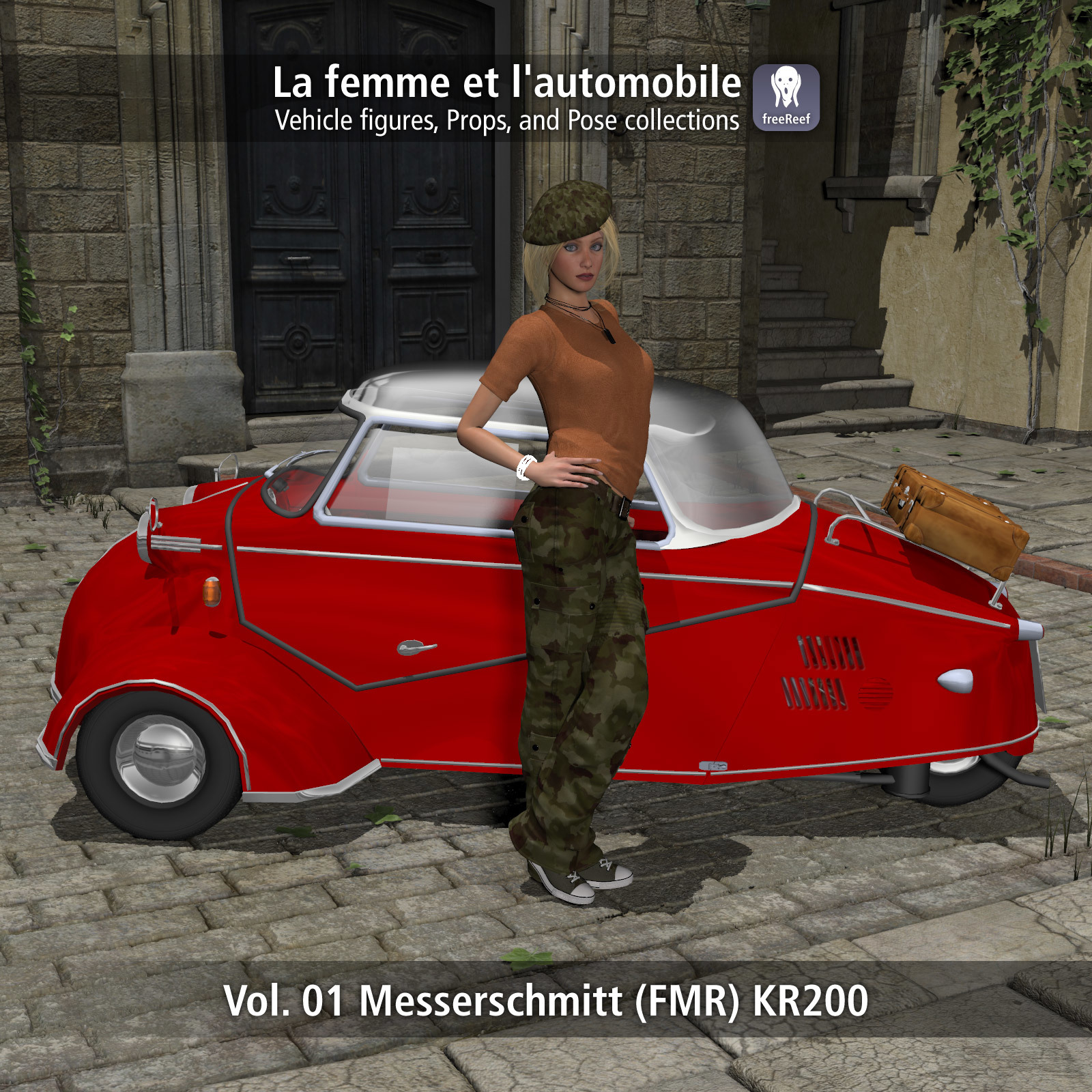 La Femme et l'automobile 01 by freeReef
