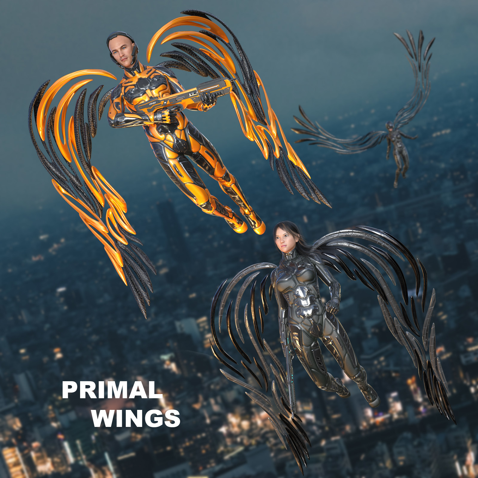 Primal Wings by midnight_stories
