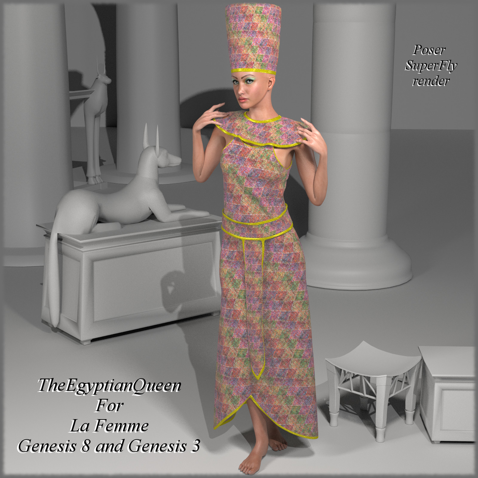 TheEgyptianQueen for La Femme, G8 and G3