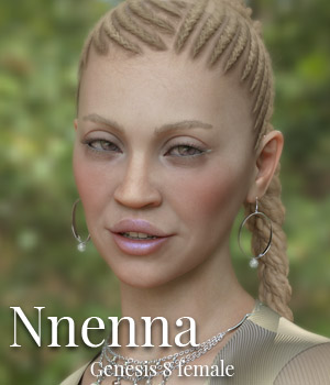 Nnenna for Genesis 8 Female 3D Figure Assets ColorGaleria