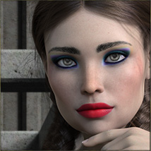 TDT-Alessia for Genesis 8 Female image 2