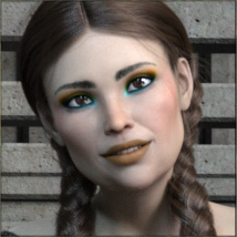 TDT-Alessia for Genesis 8 Female image 3