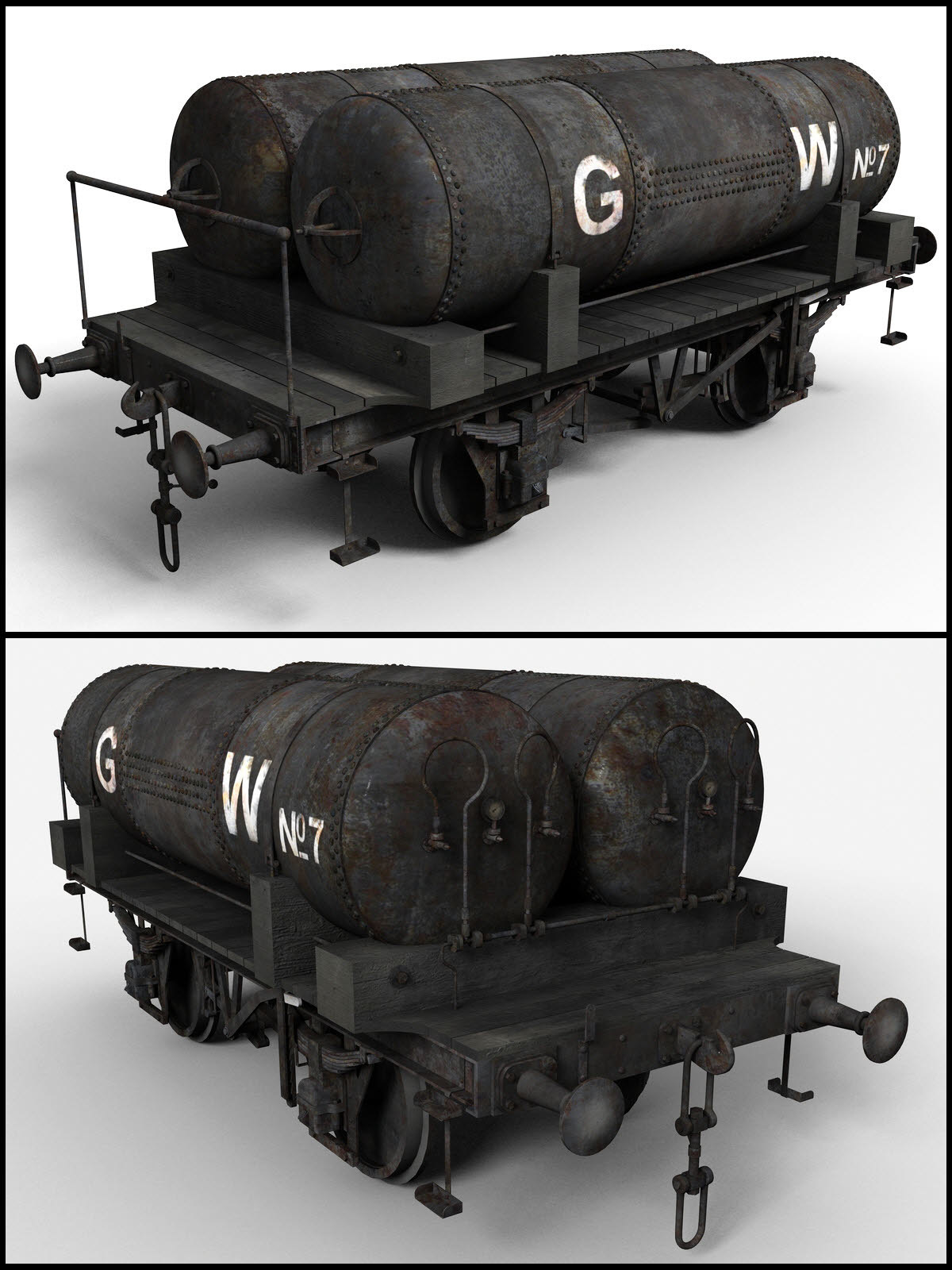 GWR Cordon Gas Tank Wagon - Extended License by DryJack