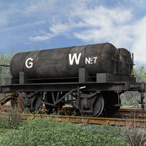 GWR Cordon Gas Tank Wagon - Extended License image 3