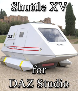 Shuttle Model XV for DAZ Studio 3D Models VanishingPoint