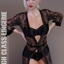 High Class Lingerie for Genesis 8 Females image 1