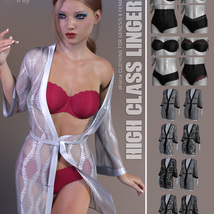 High Class Lingerie for Genesis 8 Females image 6