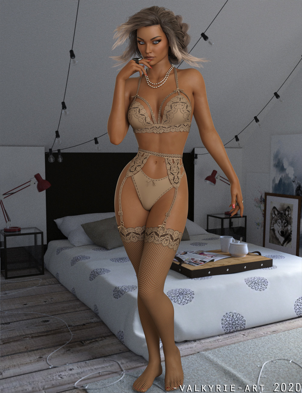 InStyle - X-Fashion Bella Lingerie Genesis 8 Females by -Valkyrie-