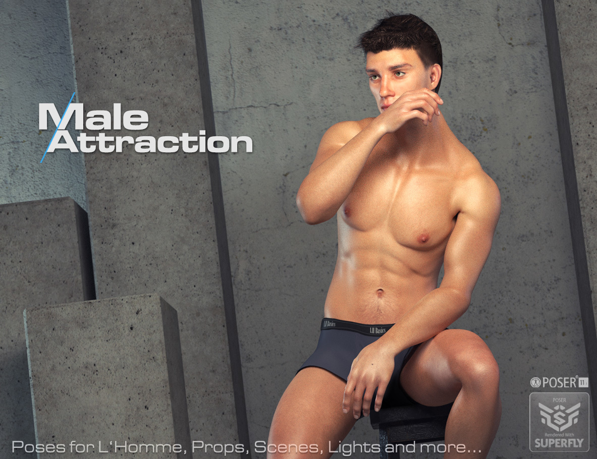 Male Attraction - for L'Homme