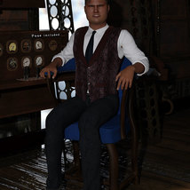 Steampunk Chair for DS image 3