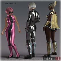 SciFi Boots for G8F image 8
