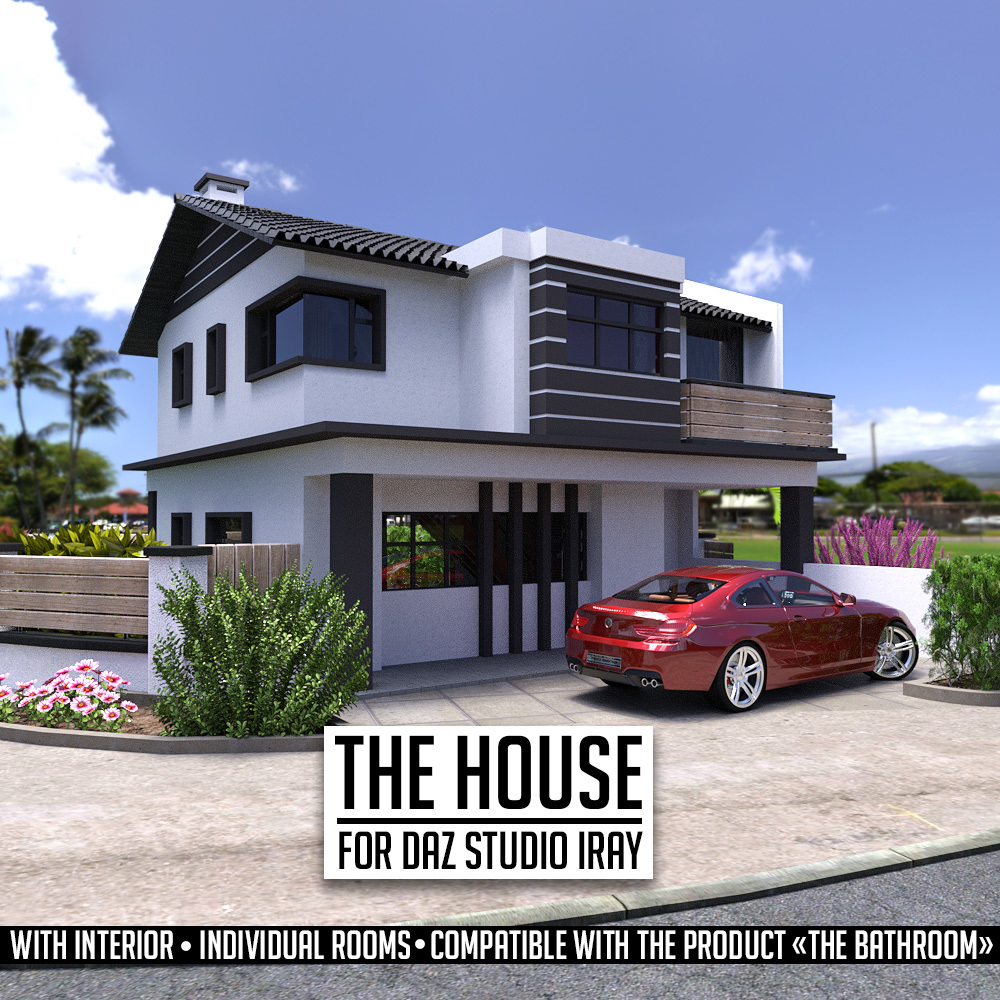 The House for DS Iray by powerage