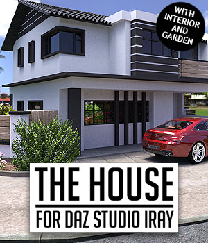 The House for DS Iray 3D Models powerage