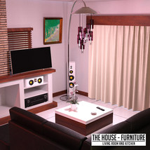 The House Furniture -Living Room and Kitchen image 1