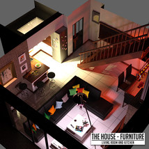 The House Furniture -Living Room and Kitchen image 2