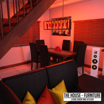 The House Furniture -Living Room and Kitchen image 5
