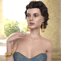 Jewelry Set One for Genesis 8 Females image 5
