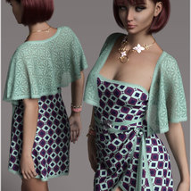 Stylish for dForce Traci Holiday Dress Outfit image 1