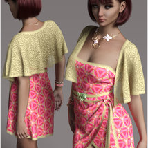 Stylish for dForce Traci Holiday Dress Outfit image 2