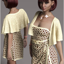 Stylish for dForce Traci Holiday Dress Outfit image 3